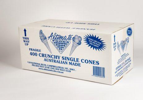 Crunchy Single Wafer Cones