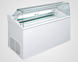 Ice Cream Scooping Freezer