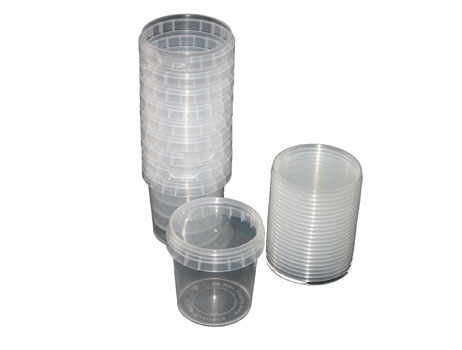 clear plastic tubs pack